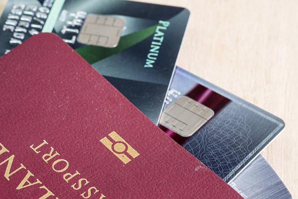 クレジットカード海外の画像